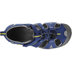 Keen Seacamp II CNX Chaussures Enfant, blue depths/gargoyle